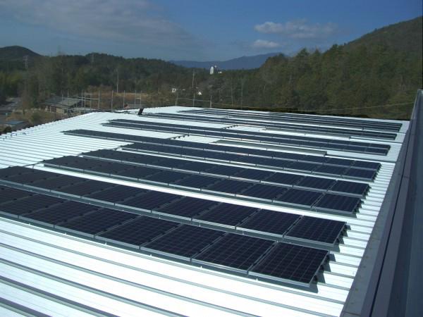 胞山工業株式会社 産業用太陽光